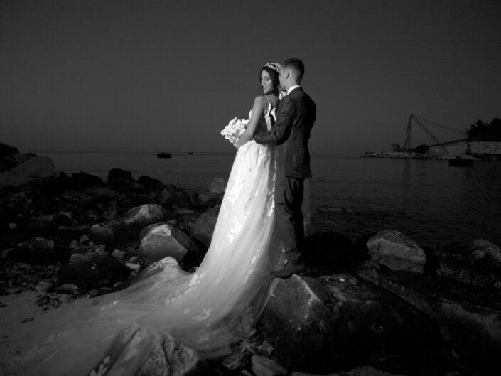 Marble Beach Wedding