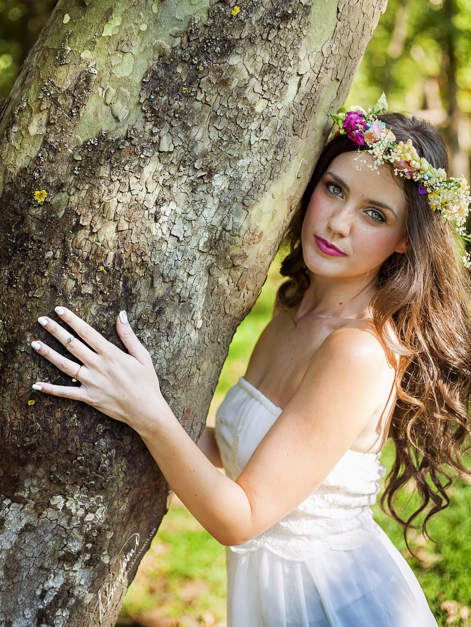 Wedding Bridal Photo Shoot in Serres, Greece by the Dreammakers. Wedding Photography and Videography.