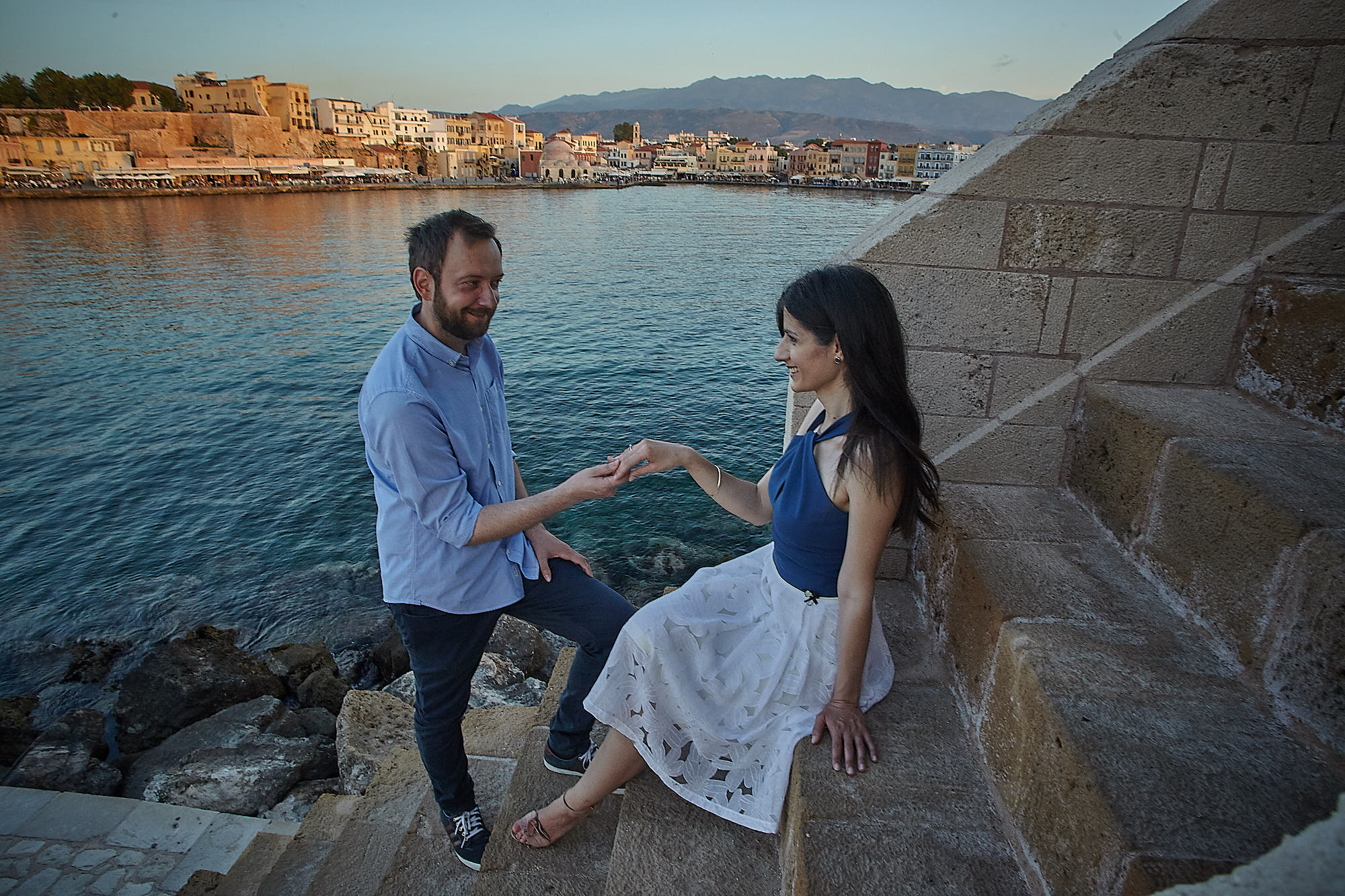Wedding Photo Shoot in Chania Pre Wedding Crete Rethymno Couple the Dreammakers Elopment Destination Wedding Photography Videography Photo Video Photo Shoot