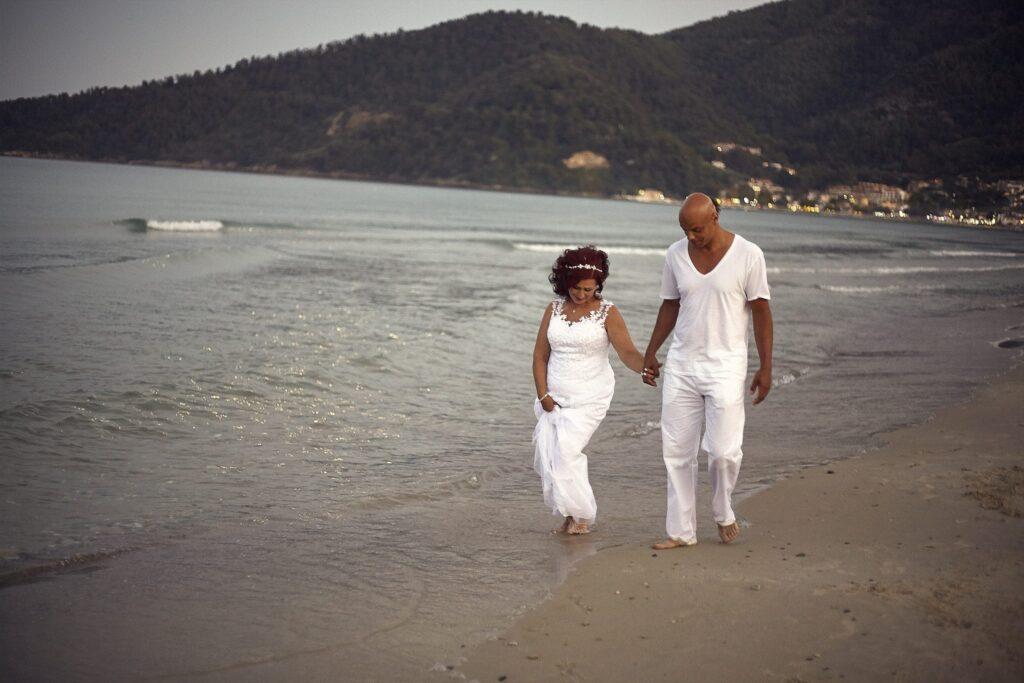 Beach Thassos Wedding Photoshoot