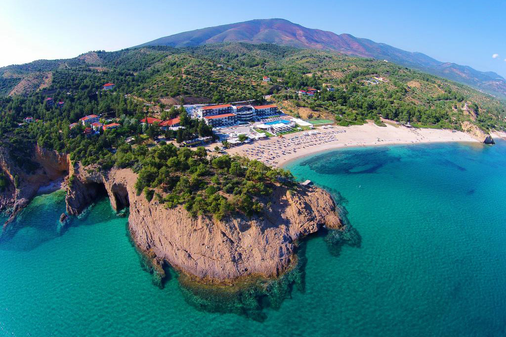A four star hotel on Thassos